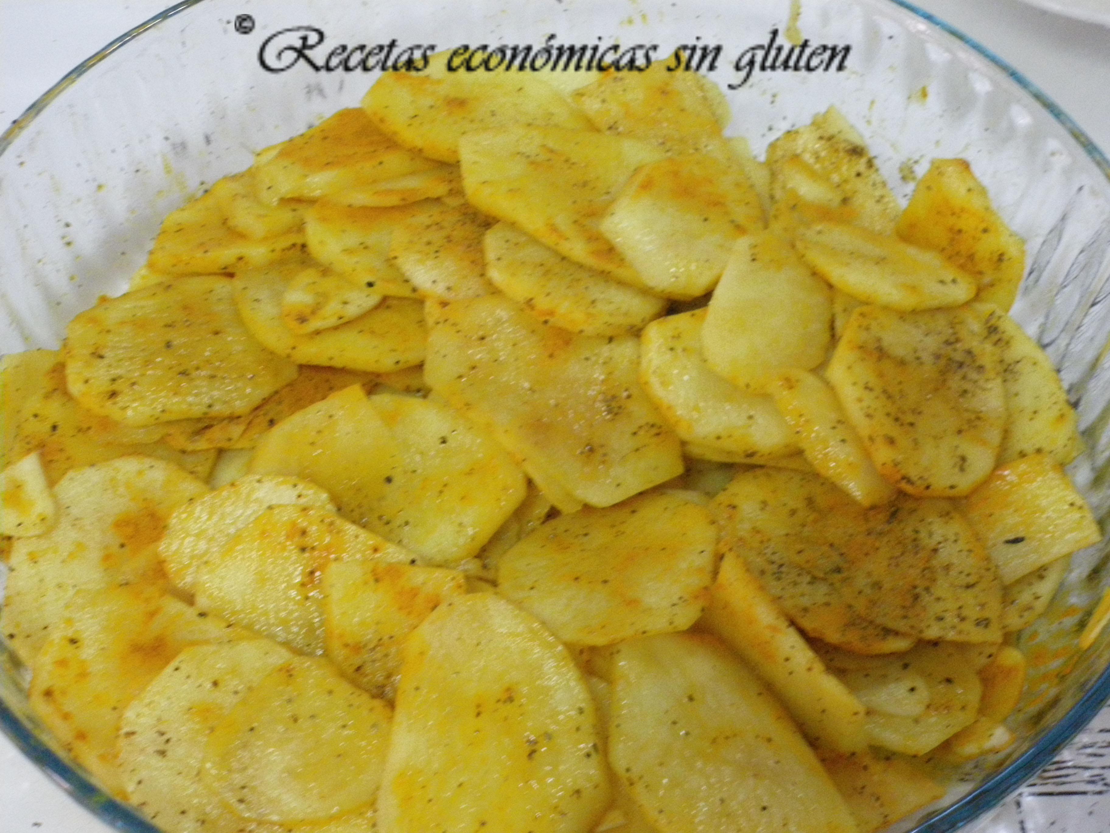 Patatas con c rcuma y pimienta en el microondas cocina - Tiempo para cocer patatas ...