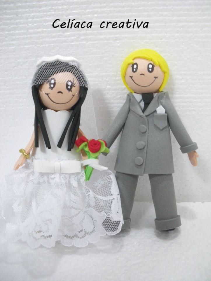 Novio y novia