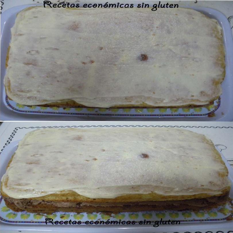 Montando la tarta