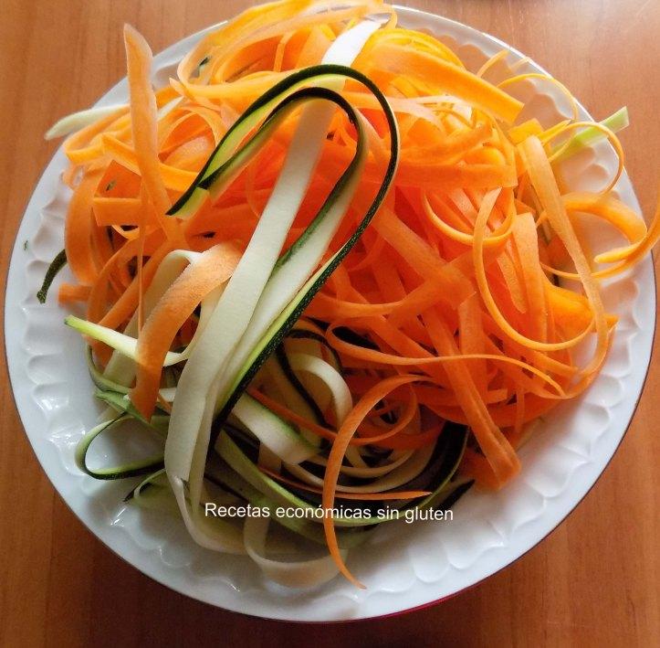 mix calabacin y zanahora